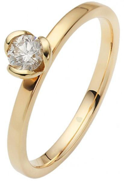 Verlobungsring 585 Weißgold
