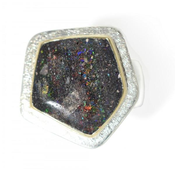 Silberring mit Opal