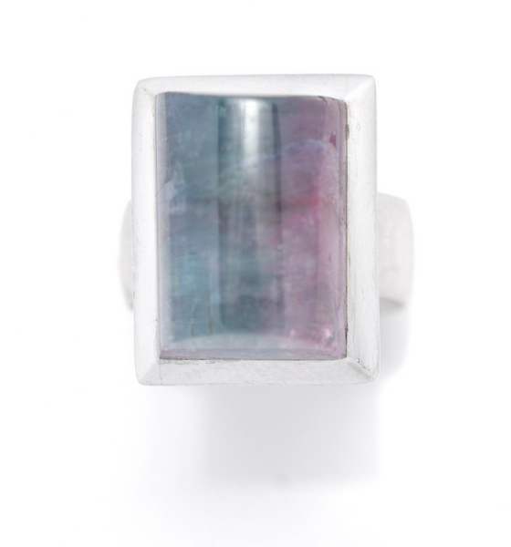 Indigolith Ring in Silber