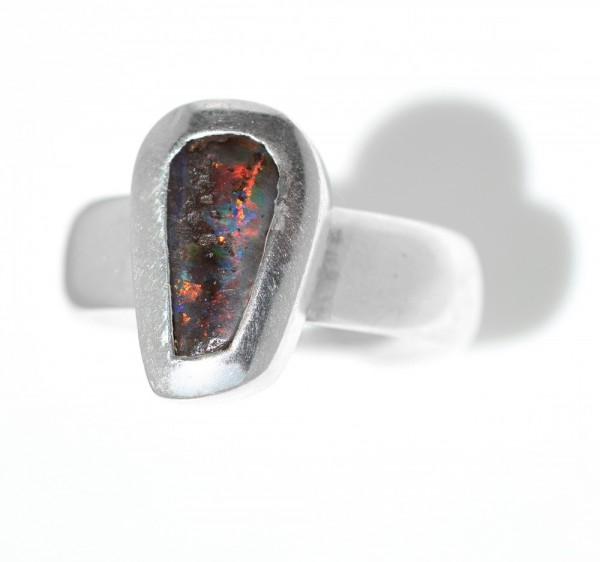 Boulderopal Silberring