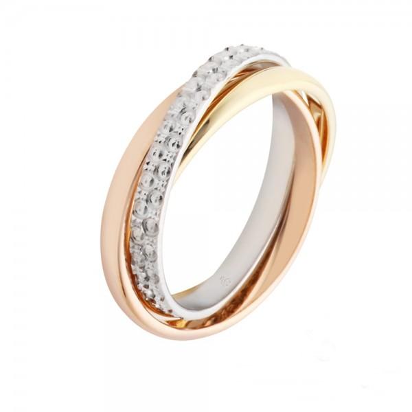 Gold Bandring 585