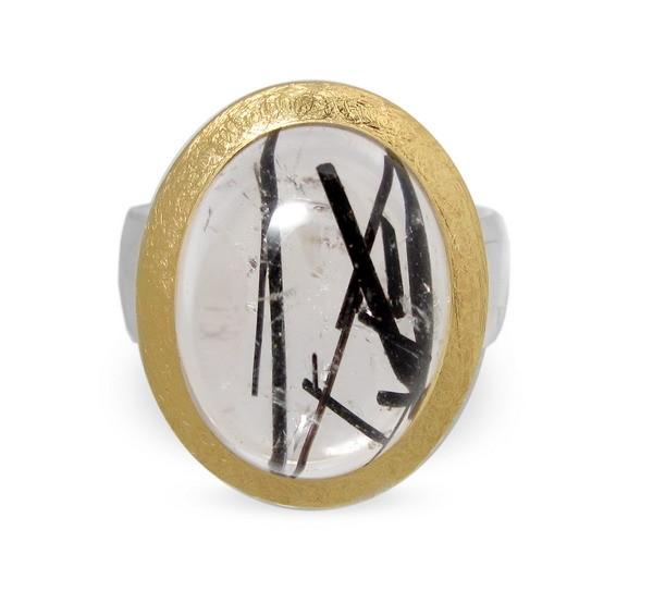 Turmalinquarz Ring