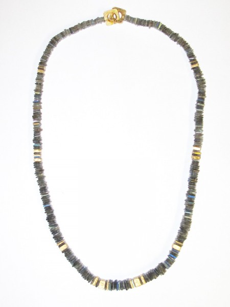 Labradorit Collier