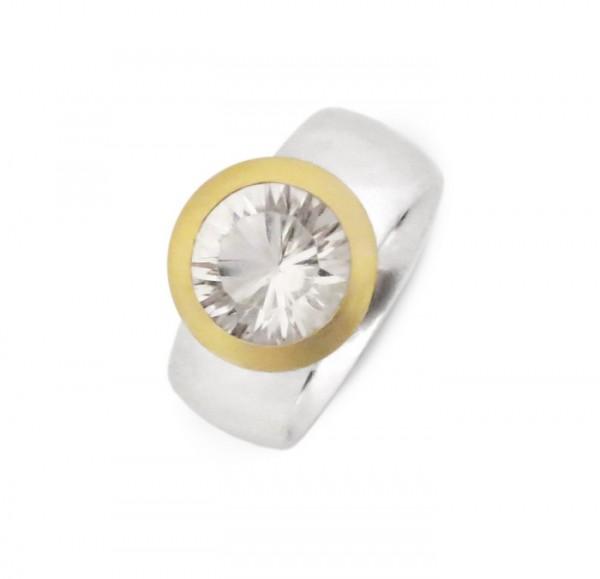 Bergkristall Ring