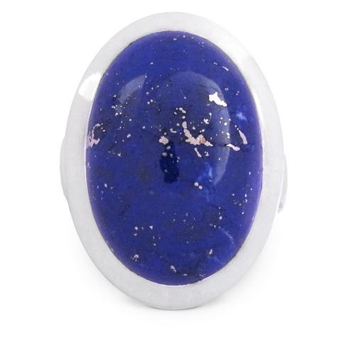Lapis Lazuli Ring Silber