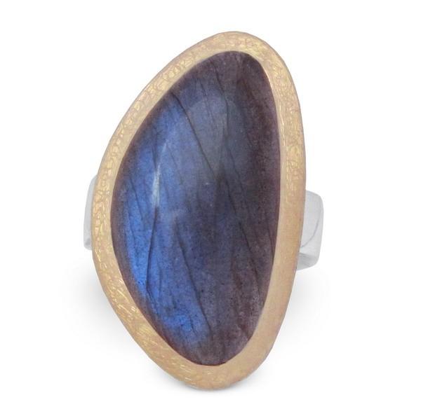 Labradorti Ring bicolor
