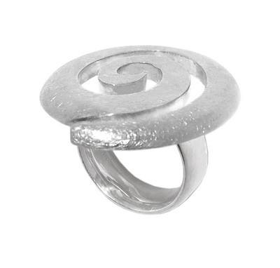Silber Ring - Spiral