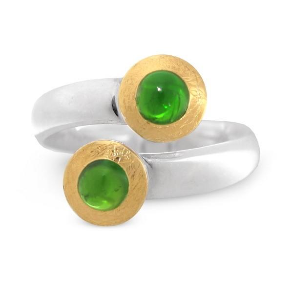 Chromdiopsid Ring