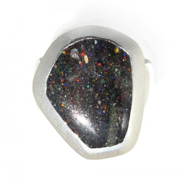 Honduras Opal, Silberring