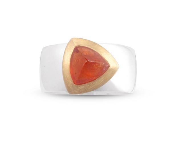 Spessartit Ring