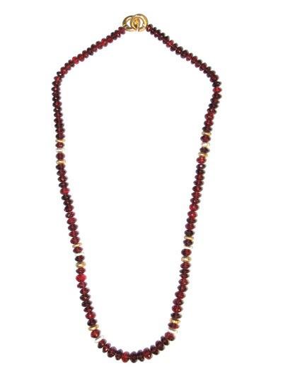 Granat Collier