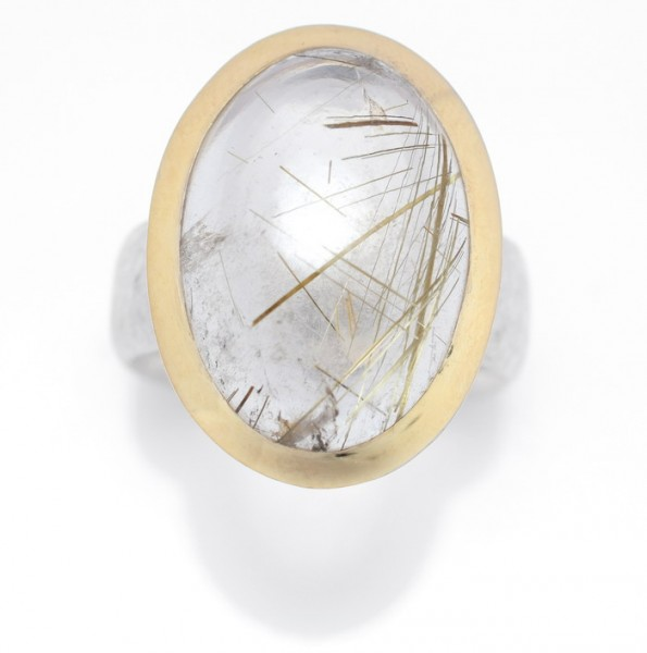 Rutilquarz Ring
