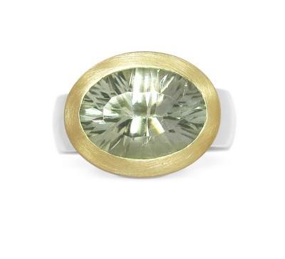 Prasiolith Ring