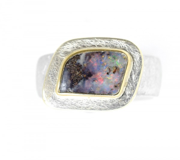 Opal Ring, Boulderopal-Copy