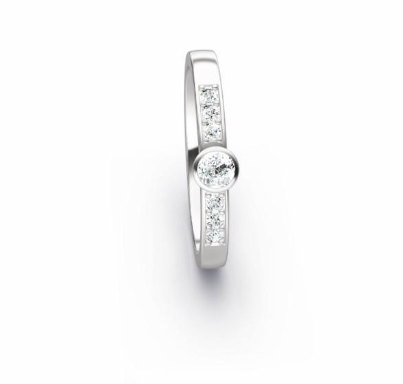 Trauring Diamant