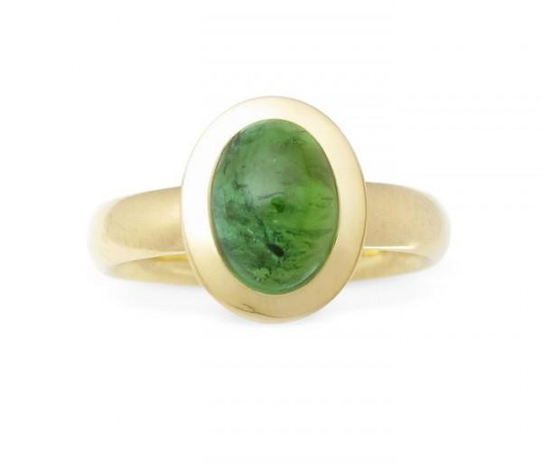 Turmalin Ring 18 Karat Gold