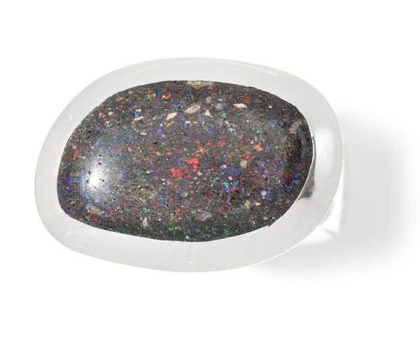 Silberring mit Honduras Opal