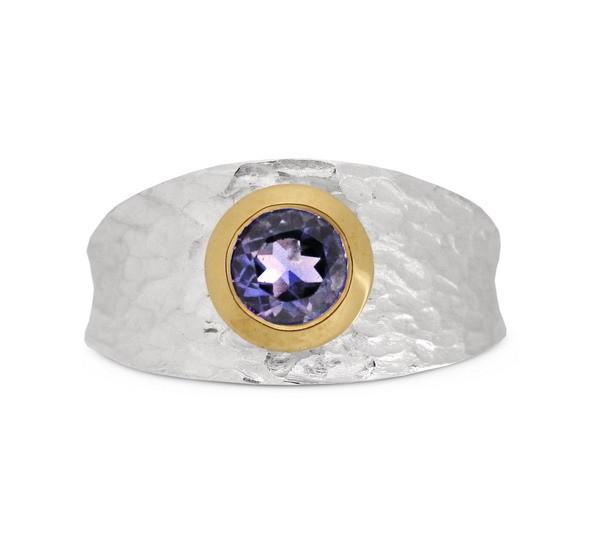 Iolith bicolor Ring
