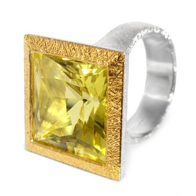 Lemon Citrin Ring