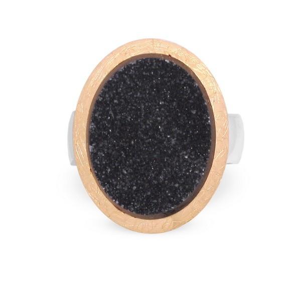 Drusen Achat Ring