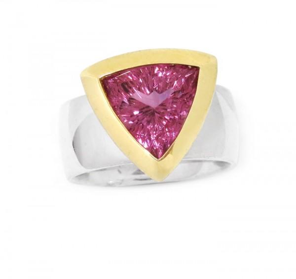 pink Turmalin Ring