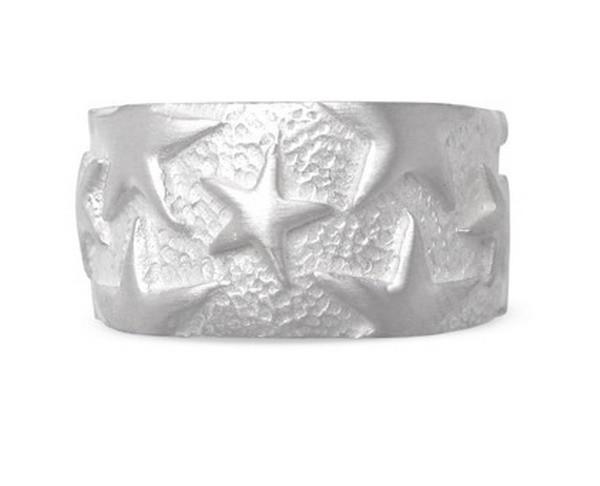 Stern Ring, Silber